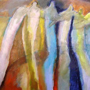 Angels 46 | olie op doek | 50 x 60 cm