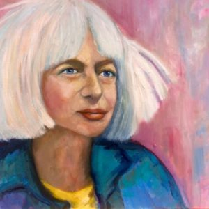 Portret Coby   40 x 50 cm   olieverf