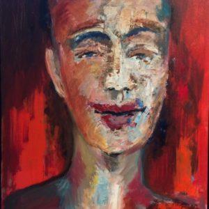 Face | olie op doek |  50 x 70 cm