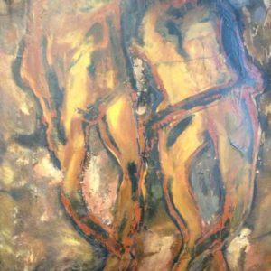 For ever | olie op doek | 120 x 100 cm