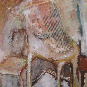 Interieur| olie opdoek | 40 x 50 cm