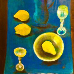 Limoncello  | 80 x 50 cm | acryl