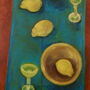 Limoncello 2 | olie op paneel | 60 x120 cm