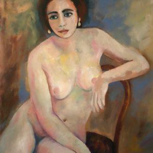 Lisa | olie op doek | 100 x 70 cm