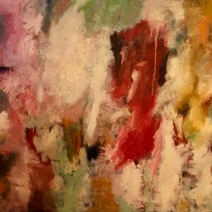 Ti Aspetto 150x120x5 cm Olieverf op canvas