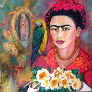 Viva la Frida | 100 x100 cm